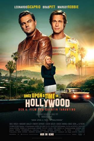 Vorpremiere - Once upon a time in Hollywood - 14. August