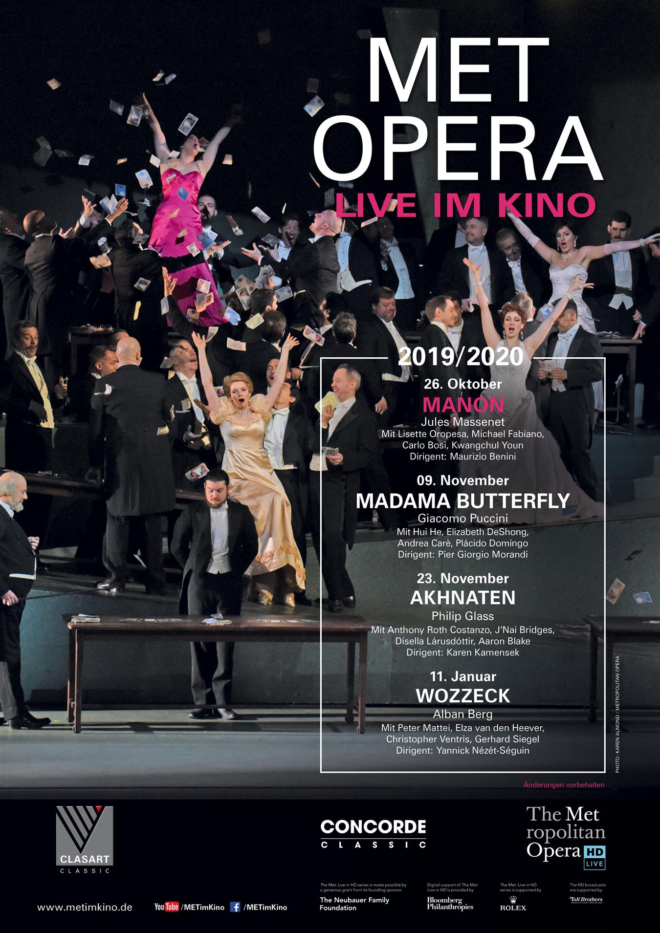 MET Opera: MANON