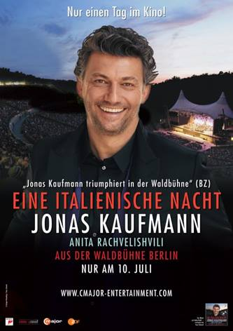 Eine italienische Nacht – Jonas Kaufmann aus der Waldbühne in Berlin