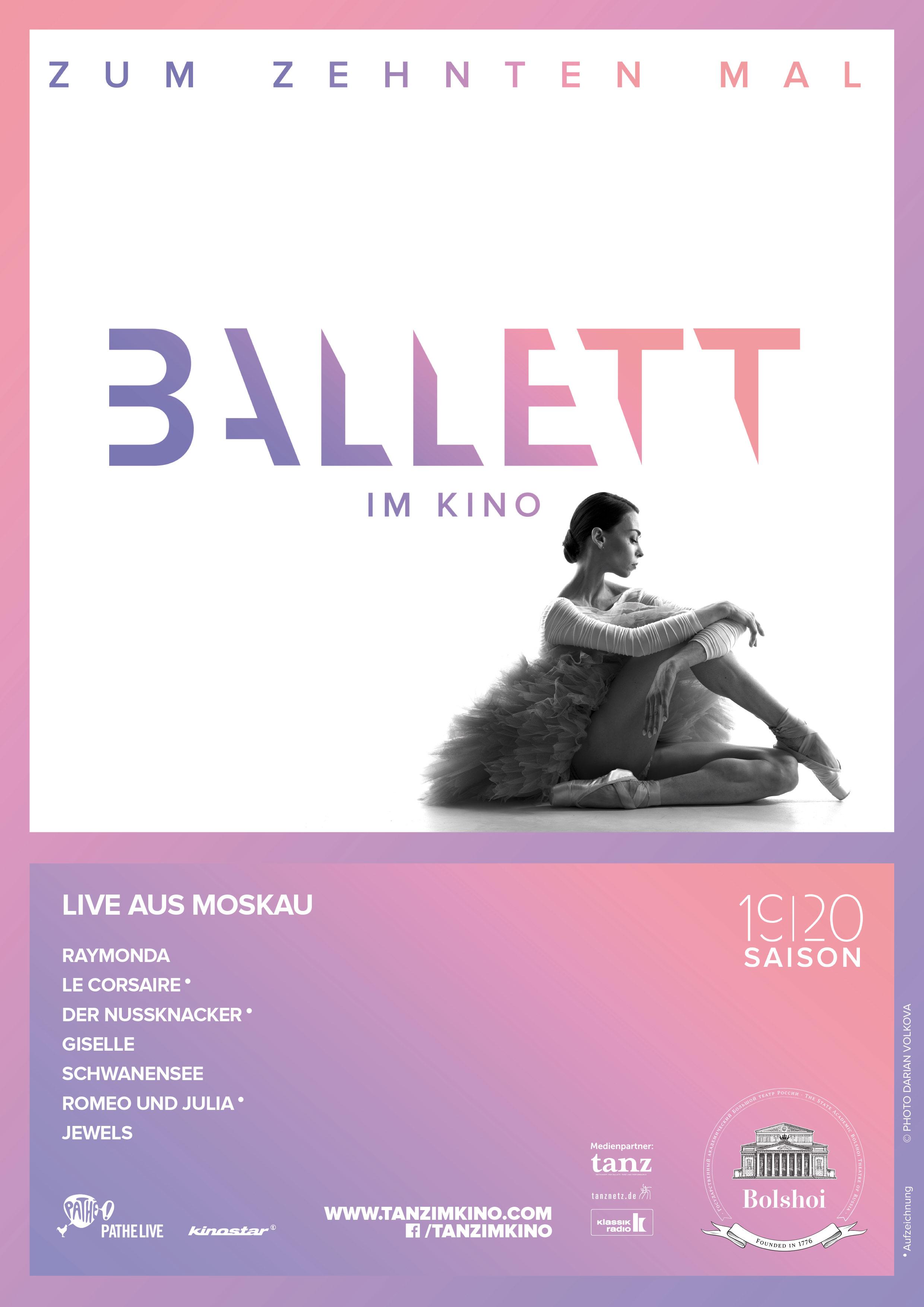 Bolschoi Ballett: Jewels (live)