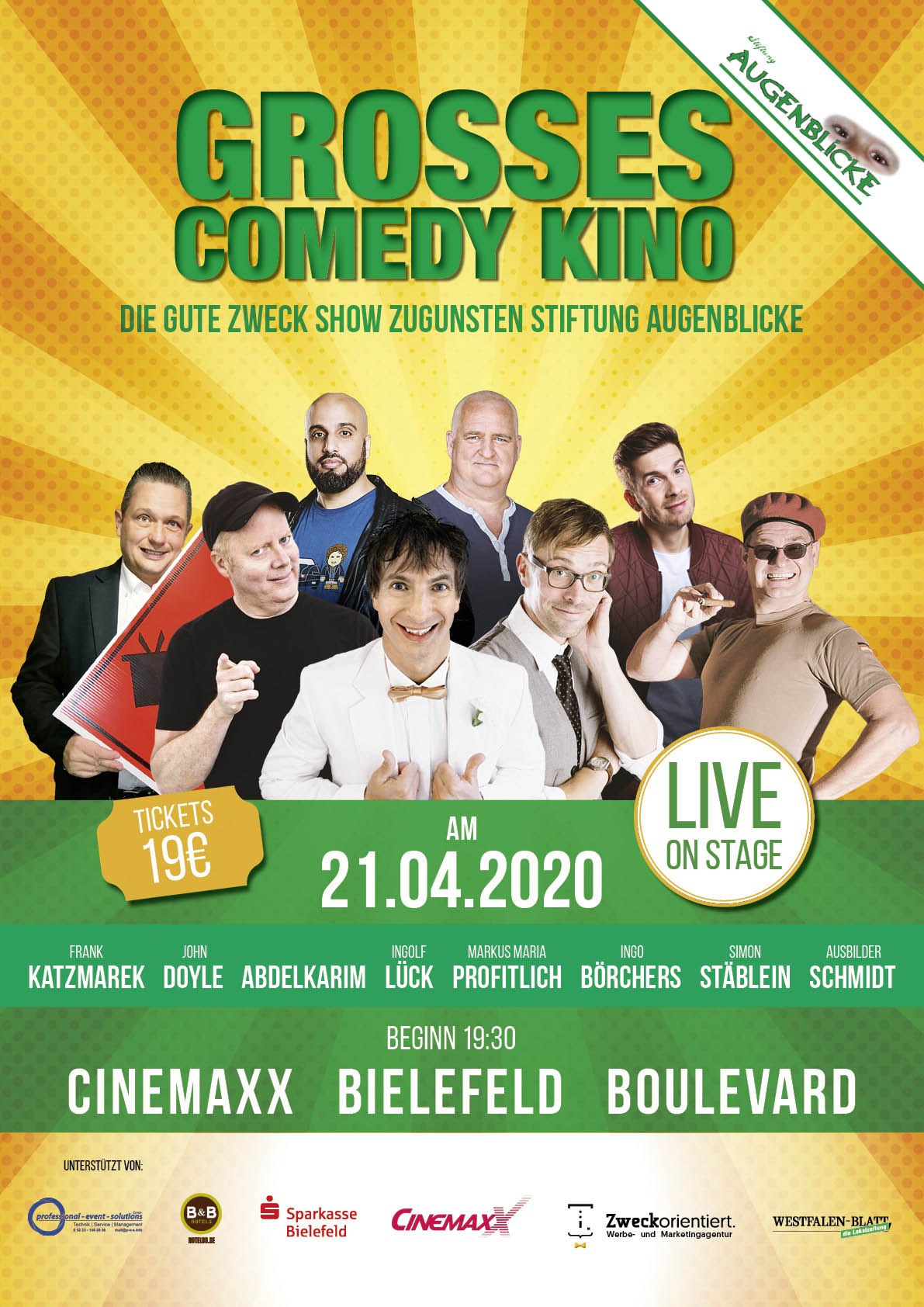 Großes Comedy Kino 2020