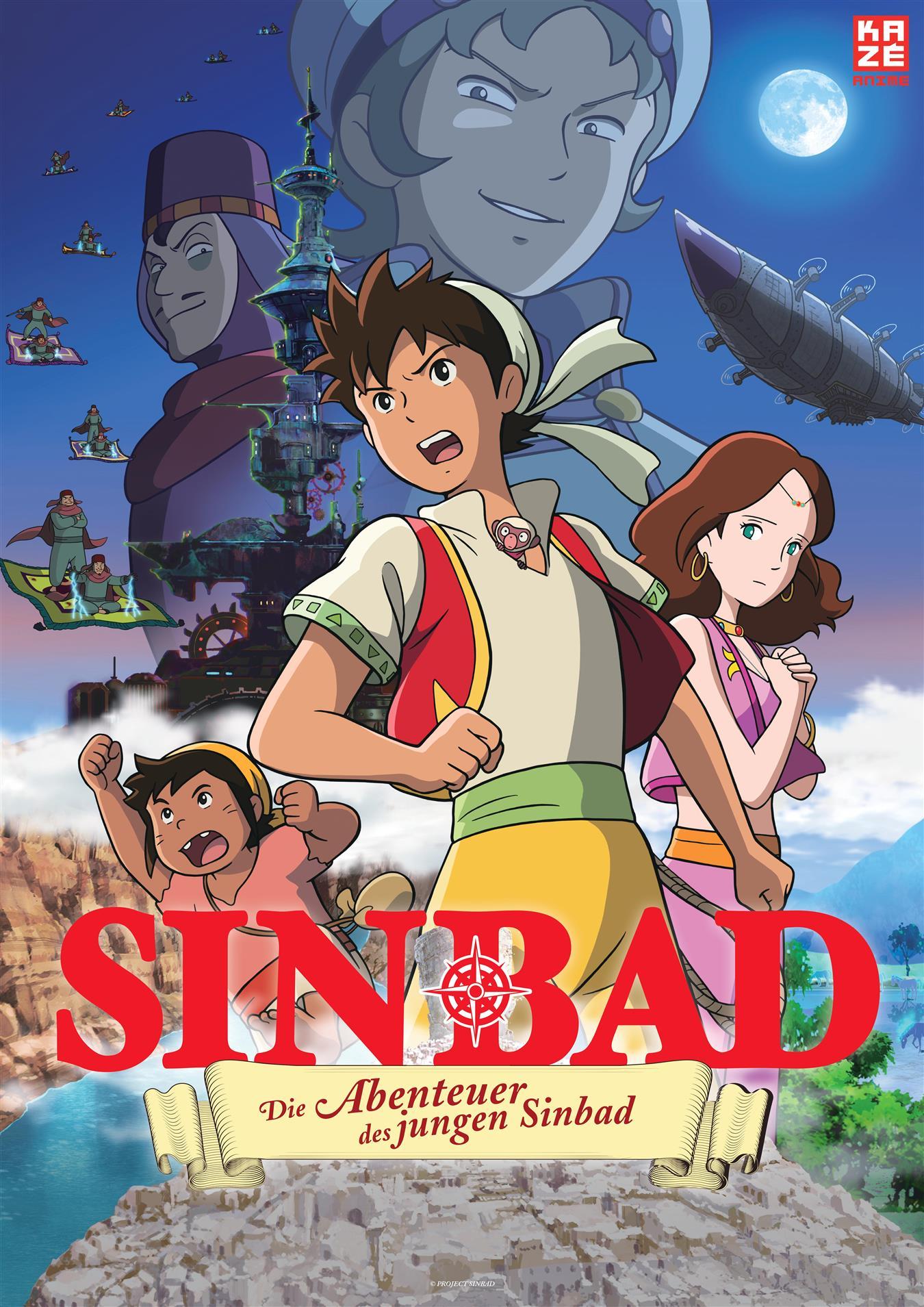 Anime Night - Die Abenteuer des jungen Sinbad