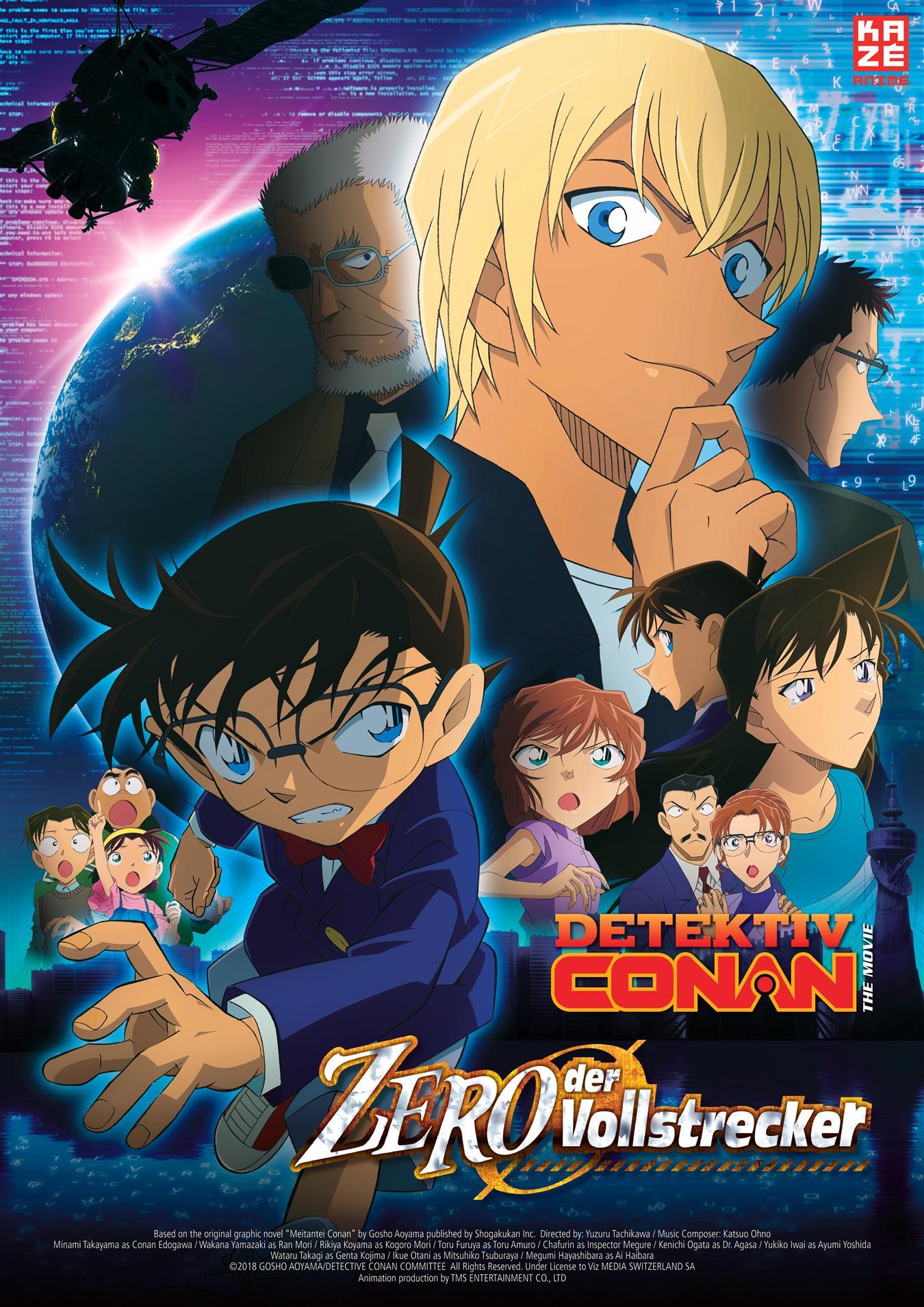 Anime Night – Detektiv Conan Film 22 - Zero der Vollstrecker