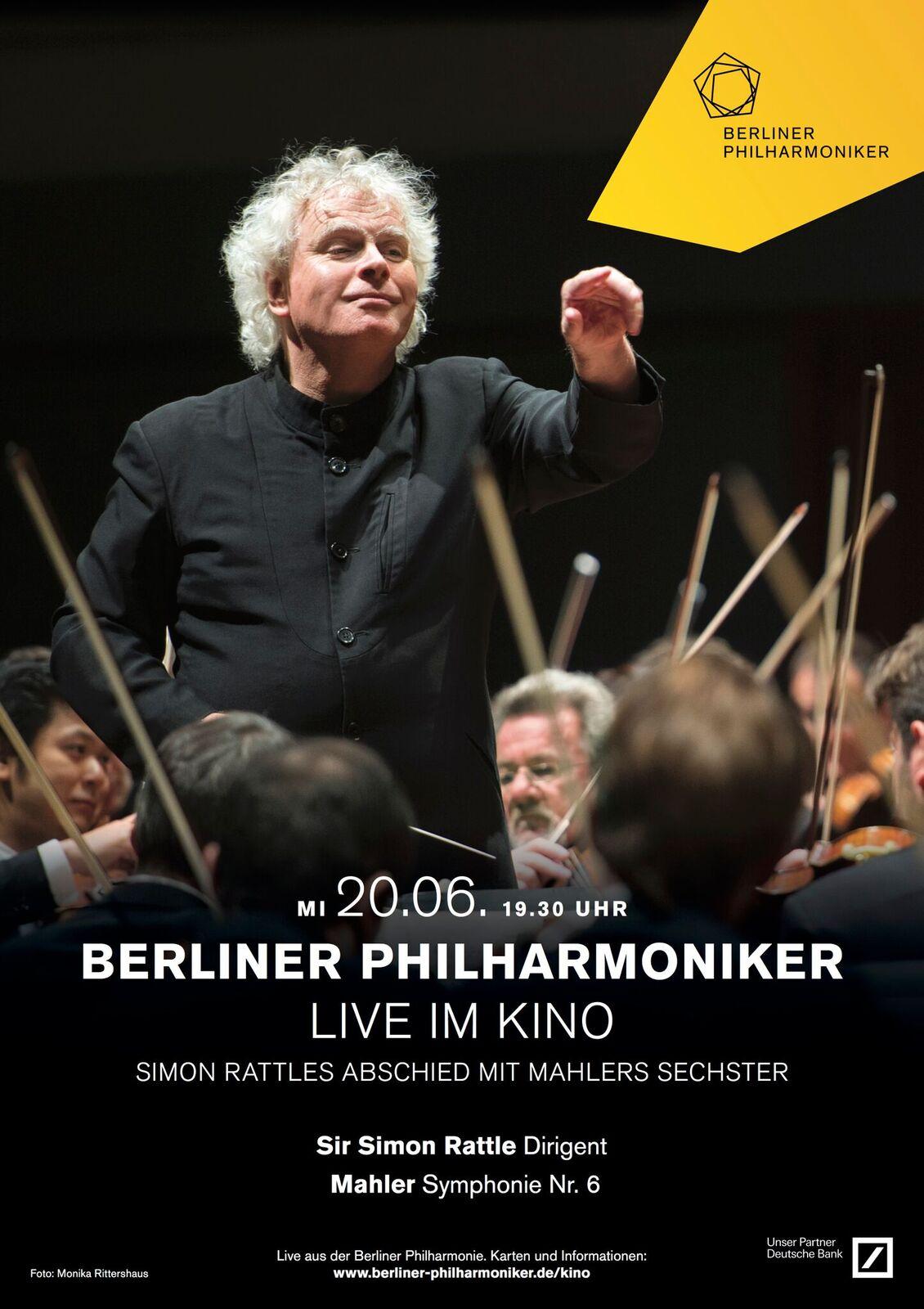 Berliner Philharmoniker: Sir Simon Rattles Abschied von der Philharmonie