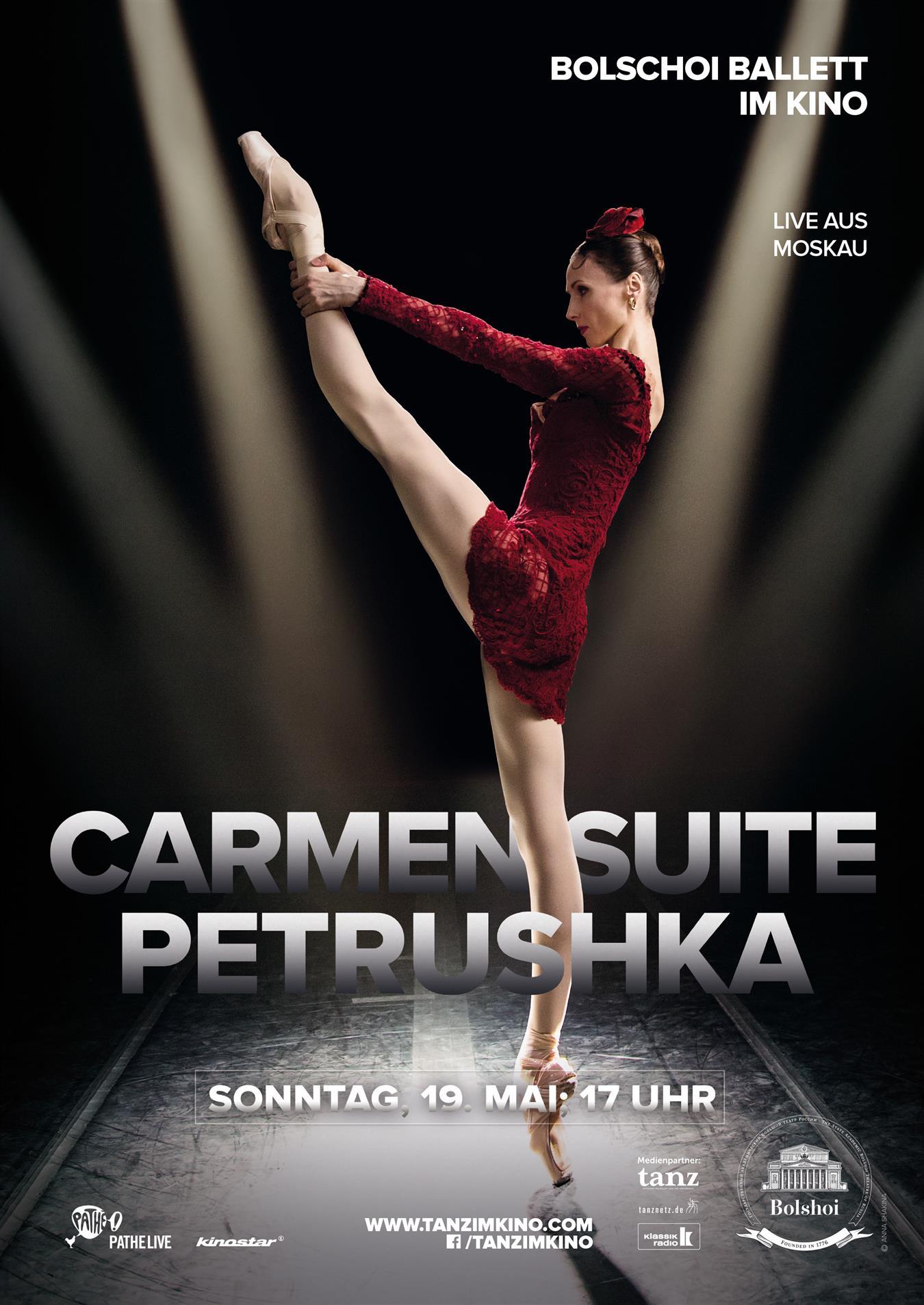 Bolschoi Ballett: CARMEN/PETRUSHKA (live)