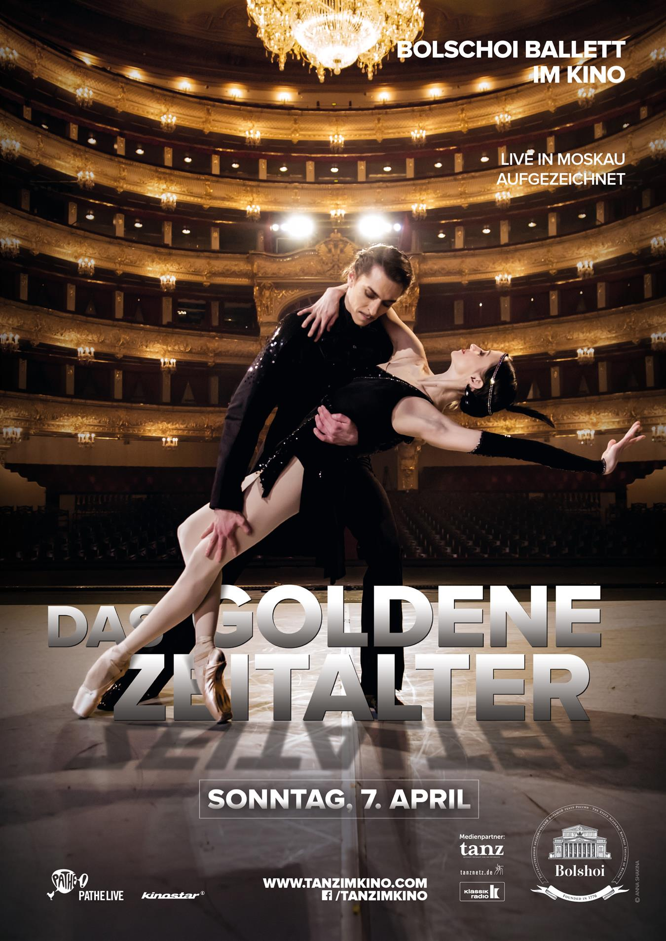 Bolschoi Ballett: DAS GOLDENE ZEITALTER